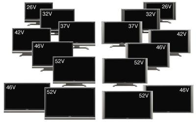 Sharp AQUOS G Series LCD TVs