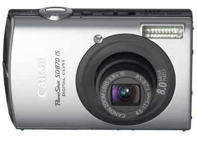 Canon PowerShot SD870 IS Digital ELPH Camera
