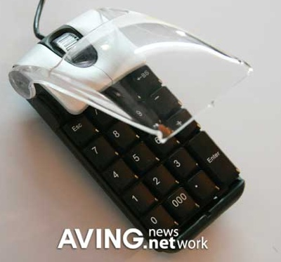 Ezkey 2-in-1 Keypad Mouse