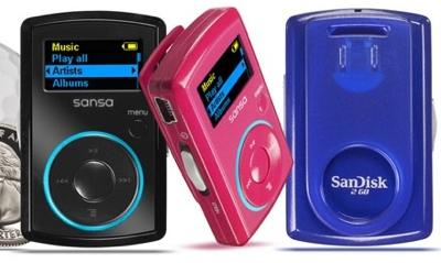 SanDisk Sansa Clip Music player