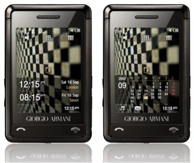 Giorgio Armani-Samsung Mobile Phone