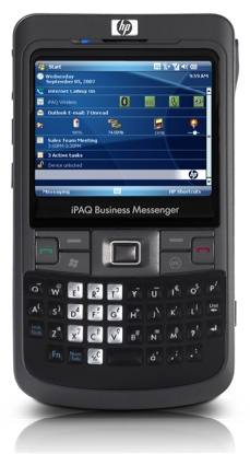 HP iPAQ 900 Series Business Messenger