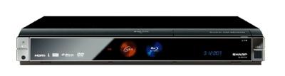 Sharp AQUOS BD-HDW20 Blu-ray recorder