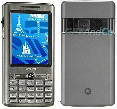 Asus P527 GPS PDA Phone