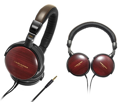 Audio Technica ATH-ESW9 Sovereign Wood Headphones