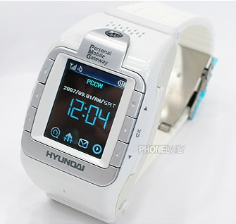 Hyundai W-100 Watch Phone