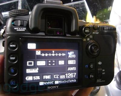 Sony Alpha A700 DSLR