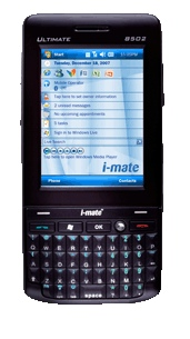 i-mate Ultimate 8502 PDA Phone with GPS