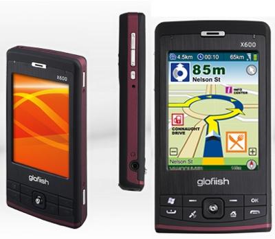E-TEN Glofiish X600 PDA Phone