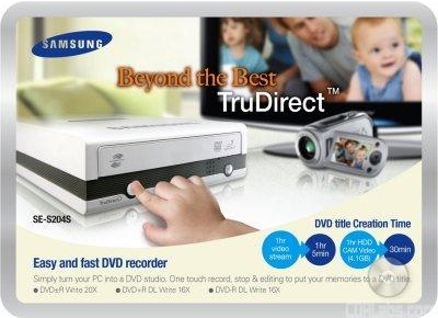 Samsung TruDirect SE-S204S DVD Recorder