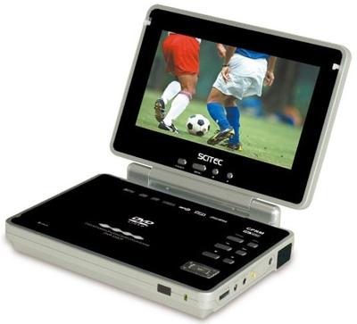 Scitec DVP-120CP Portable DVD Player