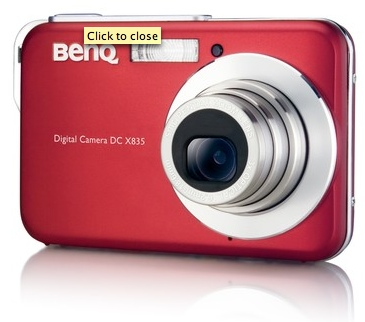 BenQ DC-X835 Digital Camera