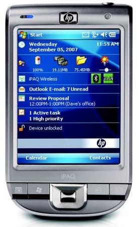 HP iPAQ 112 PDA
