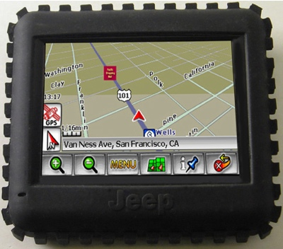 Jeep RT 300 Rugged GPS Device