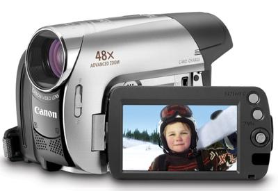 Canon ZR950, ZR930 and ZR900 MiniDV Camcorders
