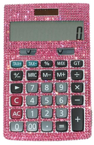 Casio Swarovski Calculator