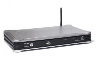 D-Link DSM-330 DivX Connected Wireless HD Media Player