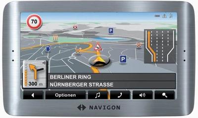 Navigon 8110 GPS Device
