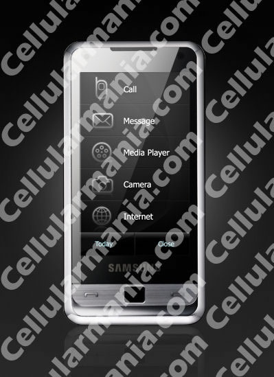 Samsung i900 Touchscreen Phone