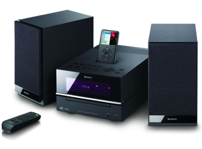 Sony CMT-BX50i and CMT-BX20i iPod Audio Systems