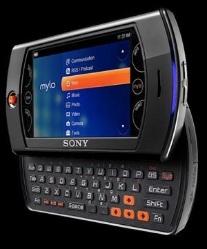 Sony mylo 2 Portable Device