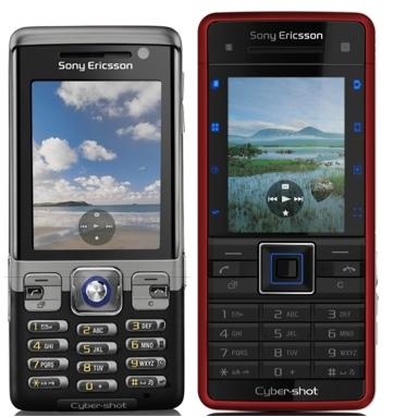 Sony Ericsson C702 and C902 Cyber-shot Phones