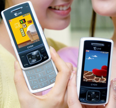 LG SH150A with AMOLED Screen