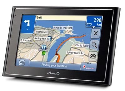Mio Moov GPS Navigation Systems