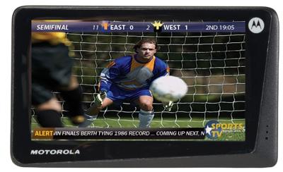 Motorola DH02 Mobile TV
