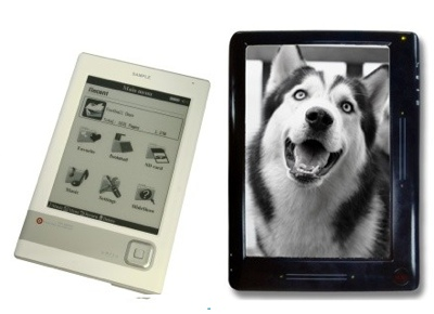 Netronix EB-100 and EB-300 e-books