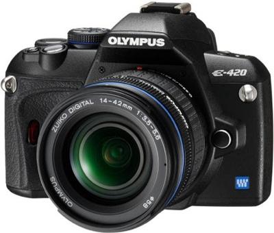 Olympus Evolt E-420 - Smallest DSLR