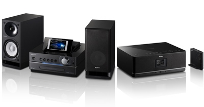 Sony GIGA JUKE NAS-SC55PKE and NAS-E35HD