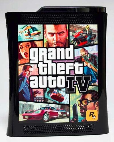 Microsoft Xbox 360 Elite -  GTA IV Edition