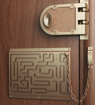 Art Lebedev Defendius Door Chain
