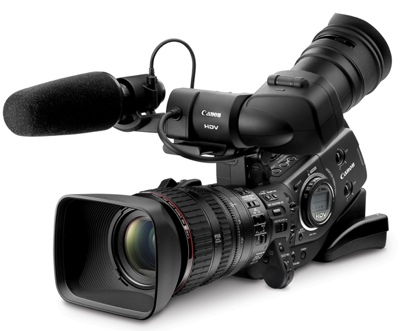 Canon XL H1S and XL H1A Prosumer HD camcorders