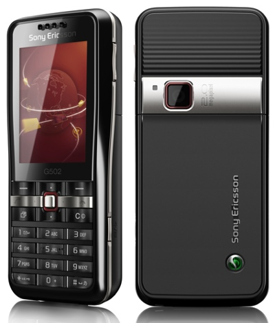 Sony Ericsson G502 HSPDA Phone