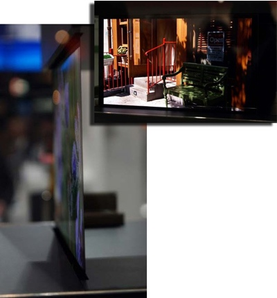 Sony Ultra-thin OLED Display