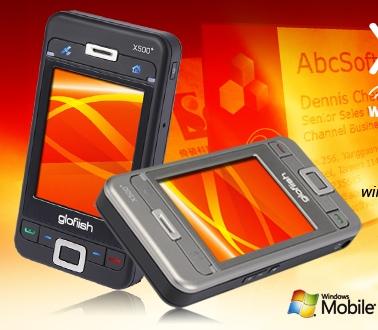 E-TEN Glofiish X500+ PPC Phone