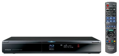 Hitachi Wooo DV-BH250 Blu-ray/HDD Recorder