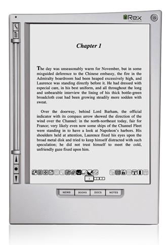 iRex iLiad Book Edition e-book Reader