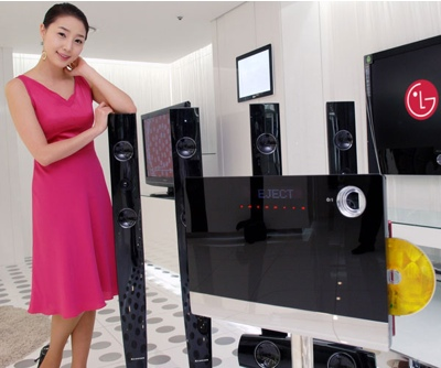 LG XCanvas HT953TVP Home Theater System