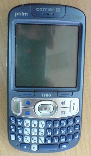 Palm Treo 800w CDMA Leaked