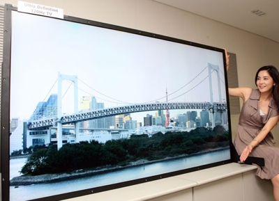 Samsung 82-inch Ultra Definition LCD TV Panel