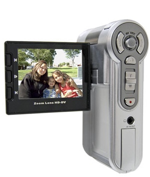 Aiptek HDV21X Budget HD Camcorder