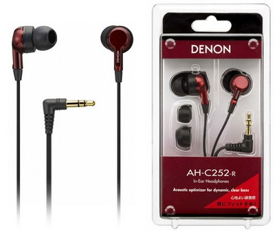 Denon AH-C252 In-ear Headphones