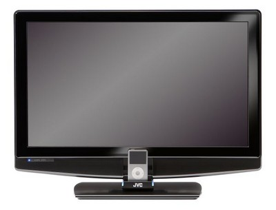 JVC P-series HDTV-iPod Dock Combos
