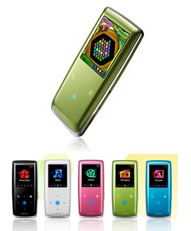 Samsung Yepp YP-S3QG Music Player