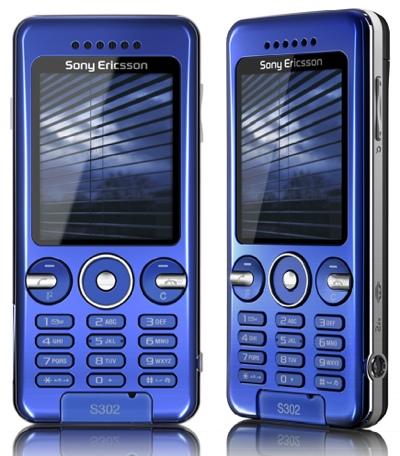 Sony Ericsson S302 Snapshot Cellphone