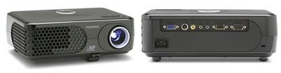Toshiba TDP-XP1U and TDP-XP2U DLP projectors