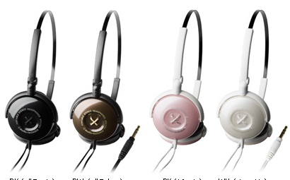 Audio-Technica Button ATH-FW3 Headphones